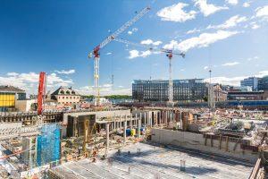 Überwachung einer Baustelle in Bonn
